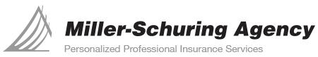 Miller-Schuring Agency Mobile Logo