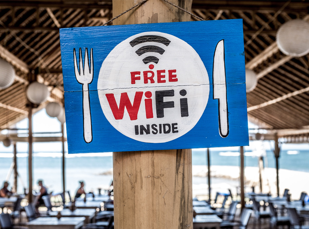 Offering wifi for your customers